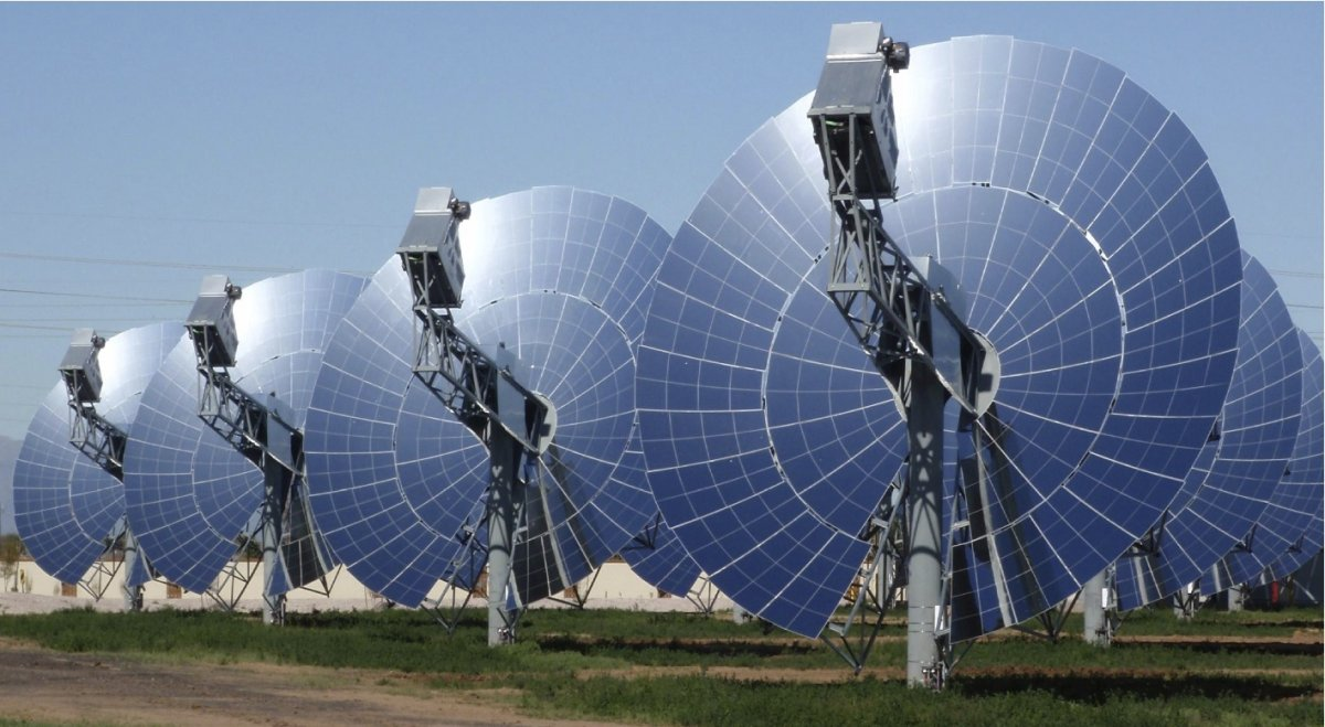 High Temperature Solar Thermal Energy