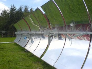Parabolic Cylinder Solar Collector