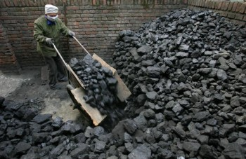 Non-renewable energy source: coal as a fossil fuel