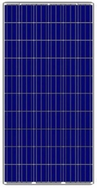 Polycrystalline photovoltaic solar panel