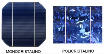 Monocrystalline and polycrystalline photovoltaic cells