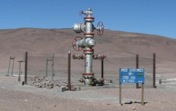 Well of geothermal energy